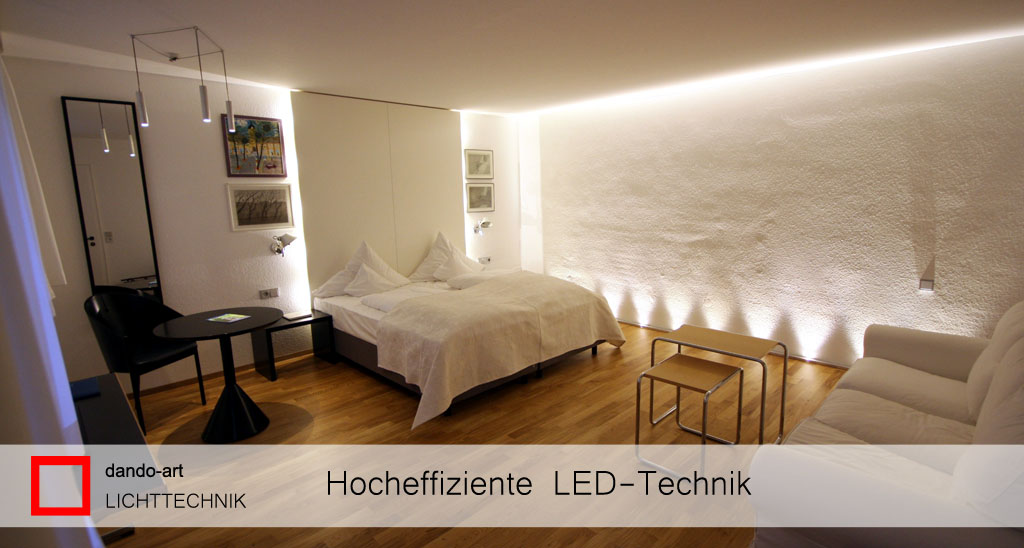 Hocheffiziente LED-Technik